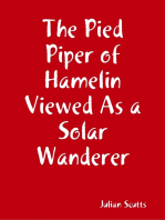 The Pied Piper of Hamelin Viewed As a Solar Wanderer
