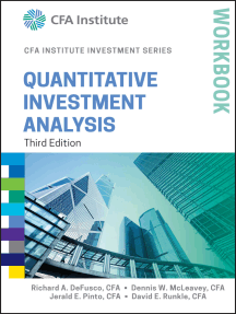 Read Quantitative Investment Analysis Workbook Online By Richard A Defusco Dennis W Mcleavey And Jerald E Pinto Books