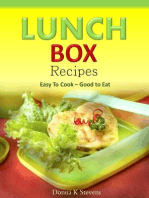 Lunch Box Recipes Easy To Cook – Good to Eat