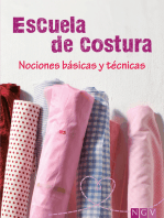Escuela de costura: Nociones básicas y técnicas