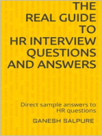 The Real Guide to HR Interview Questions and Answers