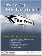 How To Get IRS Tax Relief