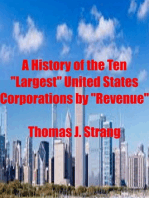 "A History of the Ten ""Largest"" United States Corporations by ""Revenue"""