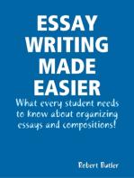 Essay Writing Made Easier