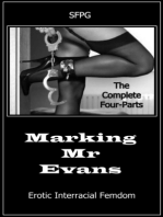 Marking Mr Evans