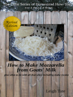 How to Make Mozzarella from Goats' Milk
