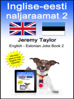 Inglise-eesti naljaraamat 2 (The English Estonian Joke Book 2)