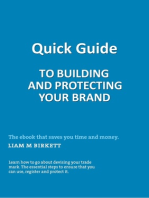 Quick Guide To Building And Protecting Your Brand