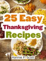25 Easy Thanksgiving Recipes