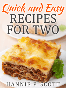 Quick and Easy Recipes for Two