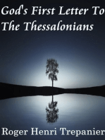 God's First Letter To The Thessalonians