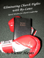 Eliminating Church Fights With By Laws