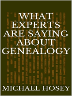 What Experts Are Saying About Genealogy