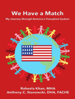 We Have a Match: My Journey through America's Transplant System