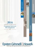 2016 Davis-Stirling Common Interest Development Act