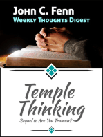 Temple Thinking