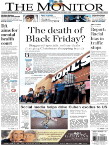 The Monitor - 11-24-2015