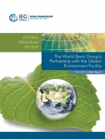 The World Bank Group's Partnership with the Global Environment Facility