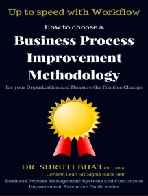 How To Choose A Business Process Improvement Methodology For Your Organization And Measure The Positive Change- Up to speed with workflow: Business Process Management and Continuous Improvement Executive Guide series, #3