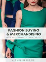Fashion Buying & Merchandising