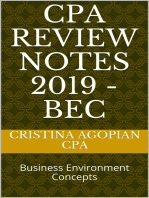 CPA Review Notes 2019 - BEC (Business Environment Concepts)