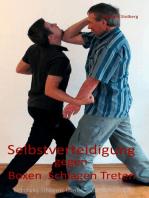 Selbstverteidigung gegen Boxen Schlagen Treten