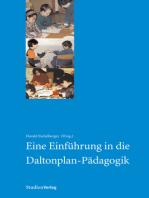 Eine Einführung in die Daltonplan-Pädagogik