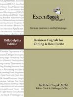 Business English for Zoning & Real Estate (Philadelphia)