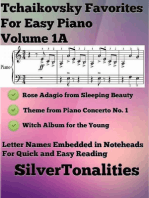 Tchaikovsky Favorites for Easy Piano Volume 1 A