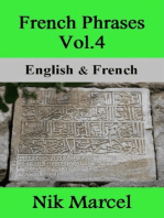 French Phrases Vol.4: English & French