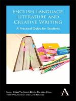 English Language, Literature and Creative Writing