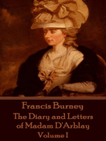 The Diary and Letters of Madam D'Arblay - Volume I