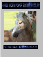 Horse Word Power Sleuth Puzzler