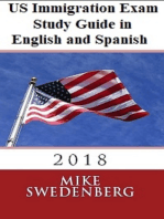 US Immigration Exam Study Guide in English and Spanish