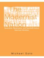 The Modernist Nation: Generation, Renaissance, and Twentieth-Century American Literature