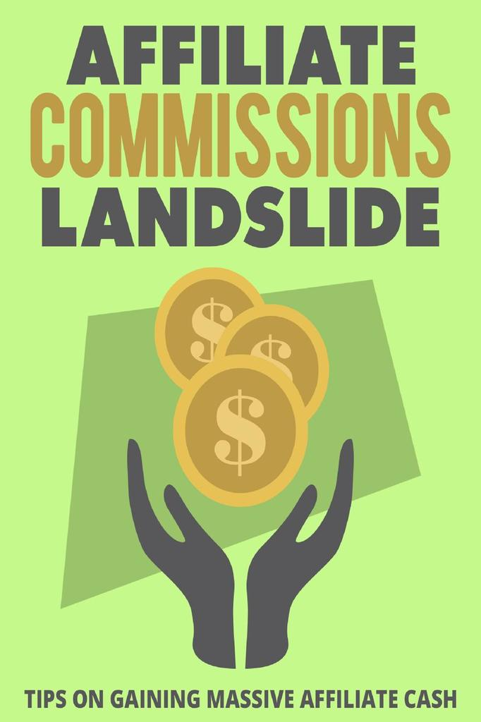 Affiliate Commissions Landslide By M F Cunningham By M F