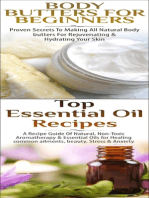 Body Butters for Beginners & Top Essential Oil Recipes