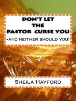 Don't Let The Pastor Curse You