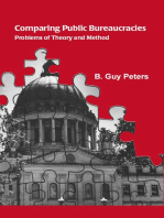 Comparing Public Bureaucracies: Problems of Theory and Method