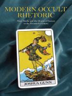 Modern Occult Rhetoric