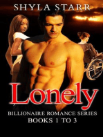 Lonely Billionaire Romance Series - Books 1 to 3