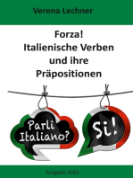 Forza! Italienische Verben und ihre Präpositionen