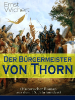 Der Bürgermeister von Thorn (Historischer Roman aus dem 15. Jahrhundert)