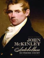 John McKinley and the Antebellum Supreme Court