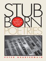 Stubborn Poetries
