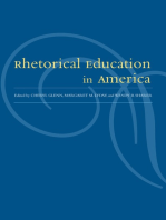 Rhetorical Education In America