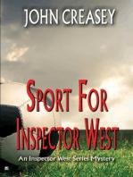 Sport For Inspector West