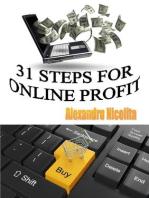 31 Steps For Online Profit