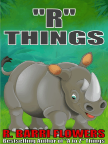 """""""R"""" Things (A Children's Picture Book)"""