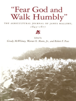 """Fear God and Walk Humbly"""